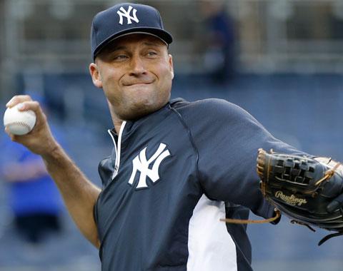 Jeter ya incrementó sus actividades de béisbol