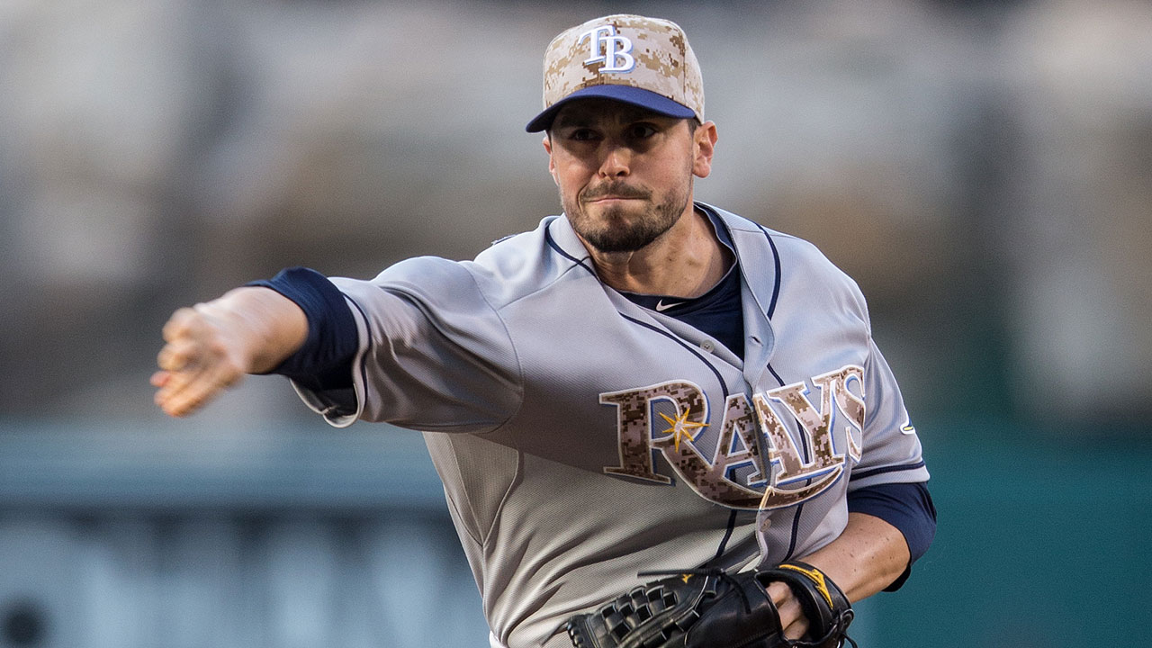 Rays option reliever Gomes to Triple-A Durham