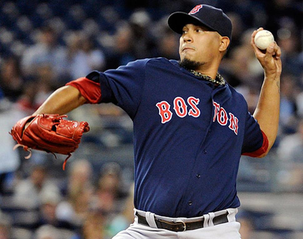 Pedro ayuda a Doubront a arreglarse en Boston