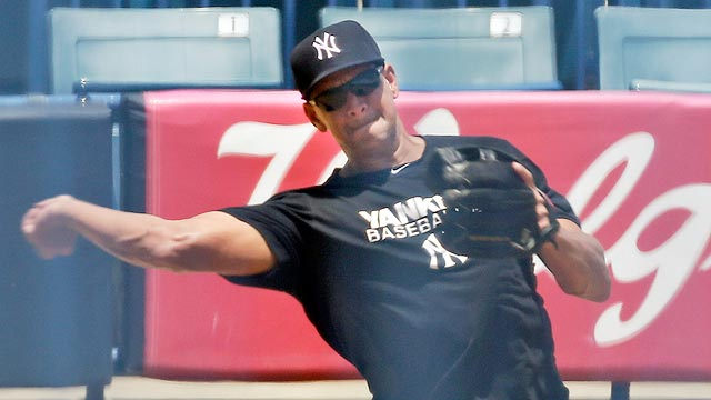 A-Rod preps for rehab stint with simulated game
