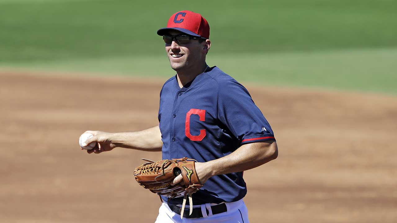 March Madness hits Indians' clubhouse