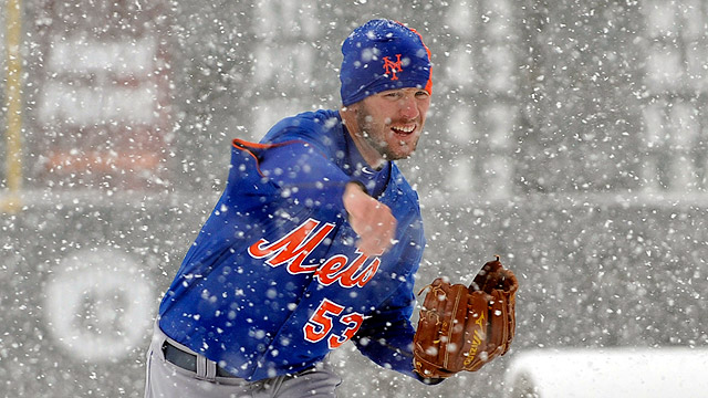 Snow hands Mets second straight postponement