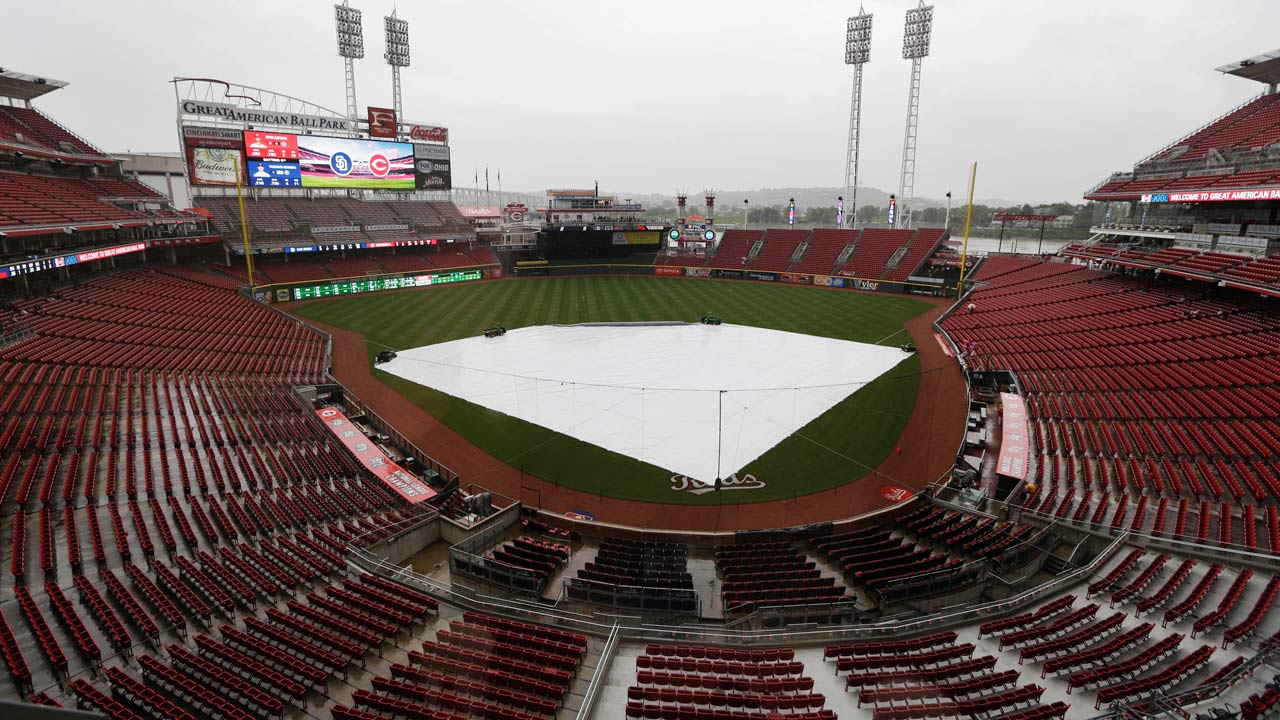 Reds and Padres to play doubleheader on Thursday
