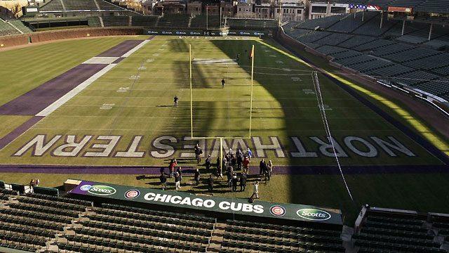 Northwestern to use Wrigley for sporting events