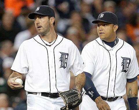 Verlander y Cabrera se destacan en racha de Tigres