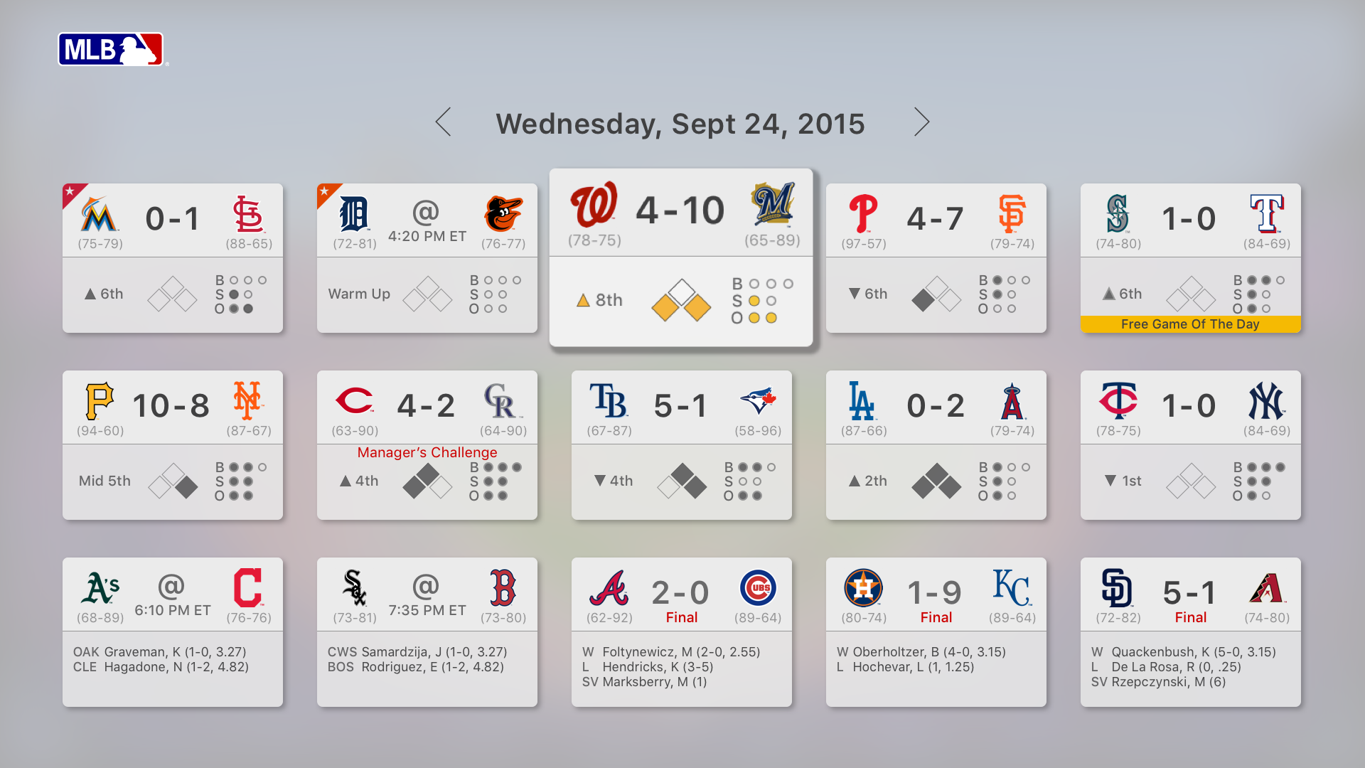 major league baseball apple tv mlb tv mlb com mlb tv
