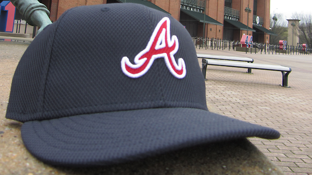Braves' batting-practice caps feature traditional 'A'