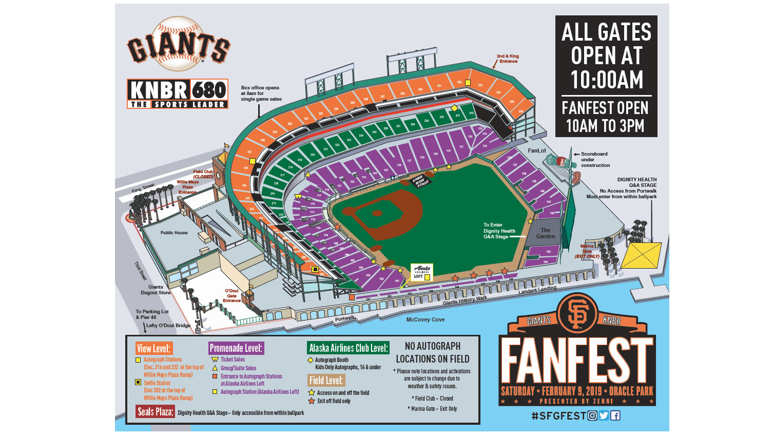 Giants FanFest | San Francisco Giants on giants arena seating, giants jets stadium map, giants stadium seating numbers, giants stadium seating plan, giants stadium seating chart, giants stadium seating view, giants tailgating, giants stadium seating vip seats, giants parking map, giants merchandise, giants spring training tickets, giants at stadium view from my seat, giants schedule,