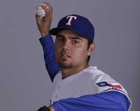 Joakim Soria lanzará en práctica de bateo de Rangers