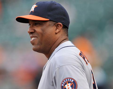 Pérez volverá a Astros como coach de la antesala