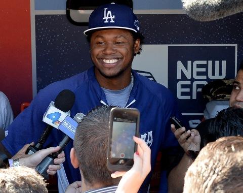 Hanley Ramírez incluido en el lineup de Dodgers