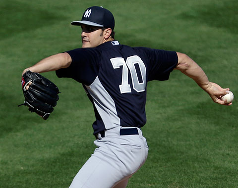 Cachorros reclamaron de Yankees a Brett Marshall