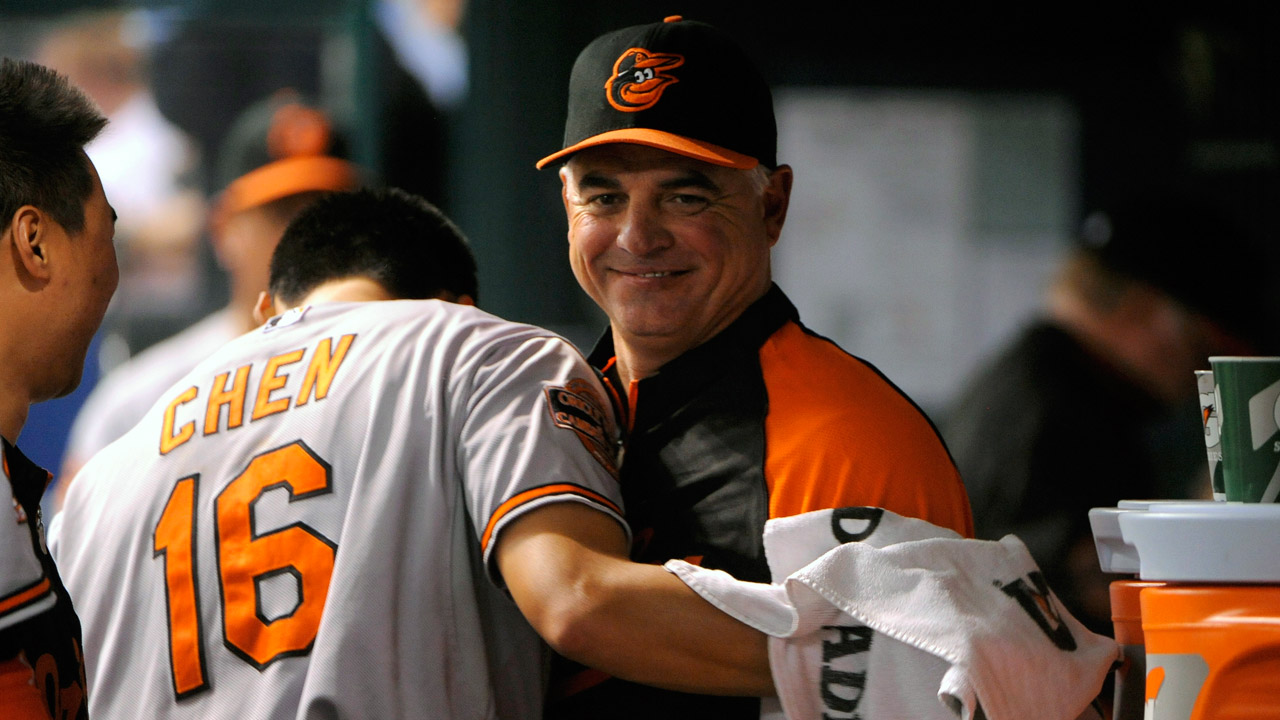Adair not returning, O's start search for pitching coach