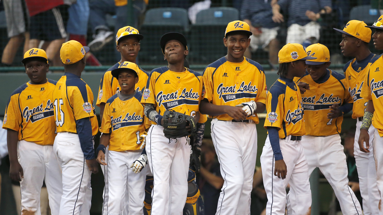 Hawkins happy for Chicago Little League team