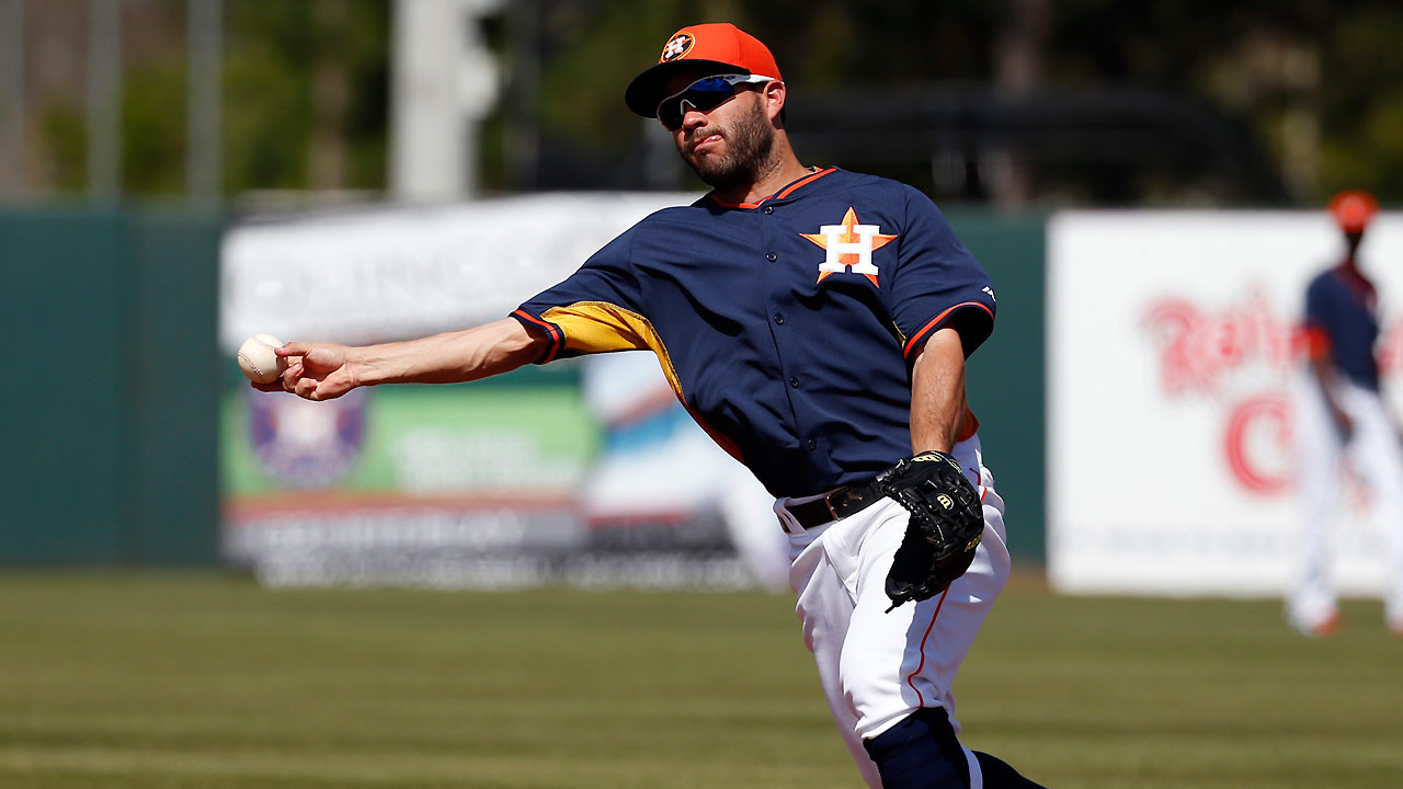 Corporan backs Cosart's solid start for Astros