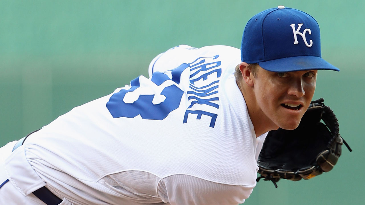 Royals set for Greinke's return trip to The K