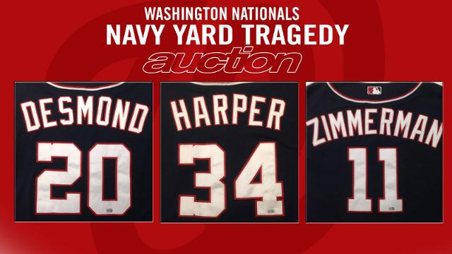 Auction to help families affected by Navy Yard tragedy
