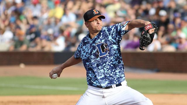 Rays call up right-hander Martin from Triple-A