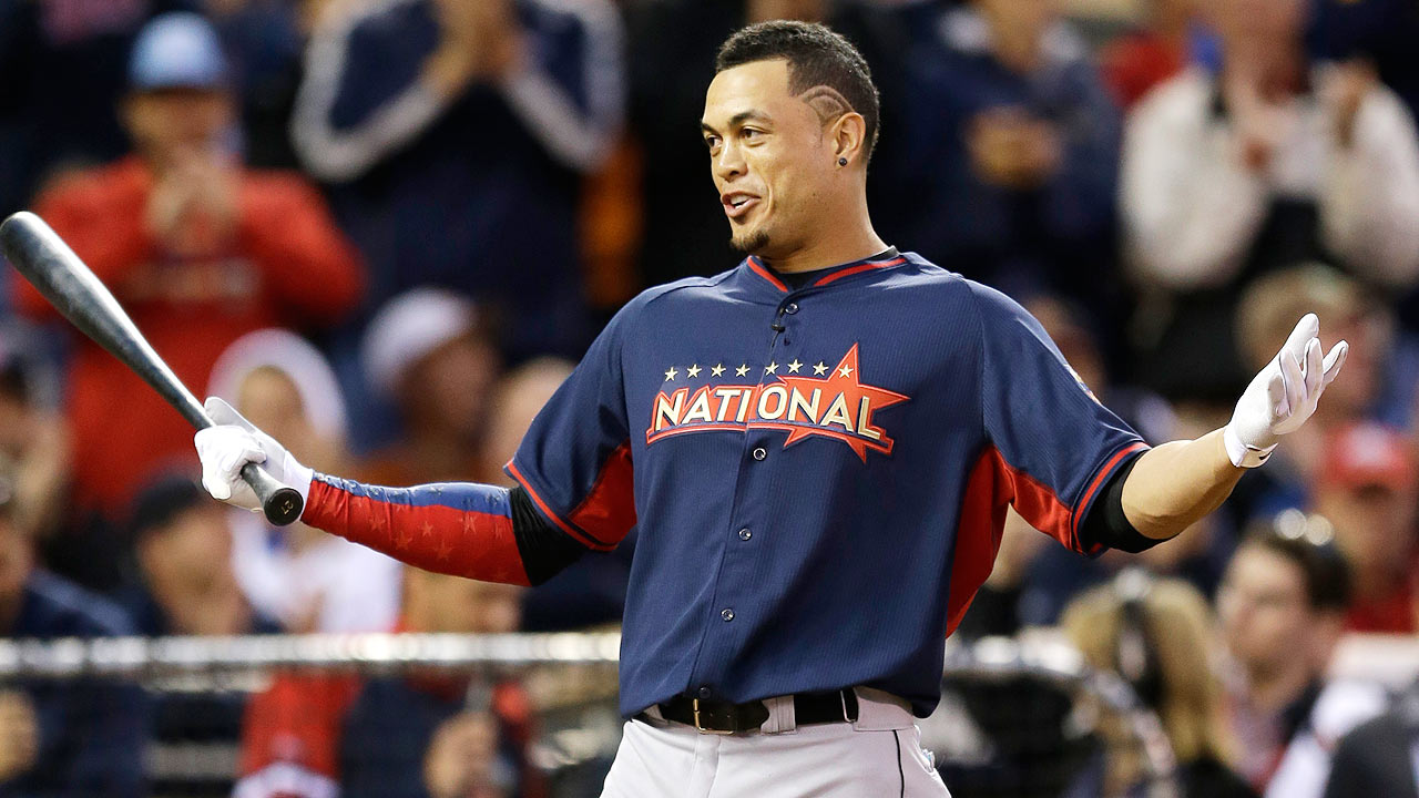 marlins slugger giancarlo stanton revels in being in all star