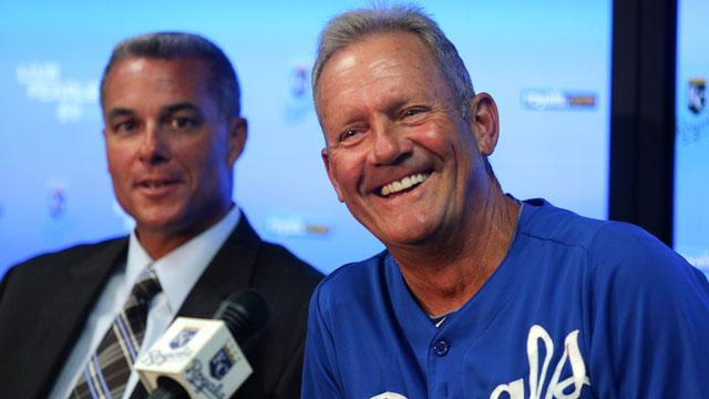 Brett bids emotional farewell as hitting coach