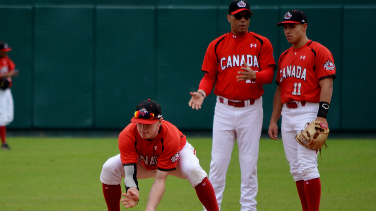 Alomar lends talents to Canadian Junior National Team