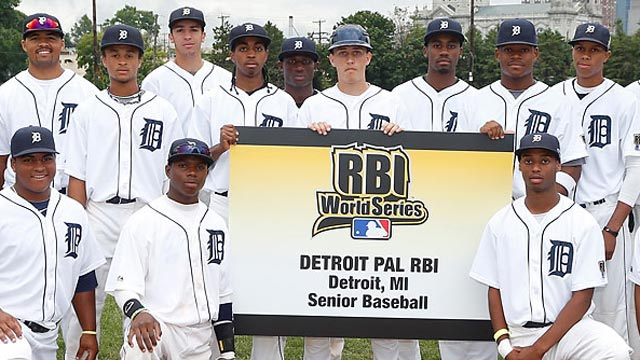 Barksdale realizing dream at RBI World Series