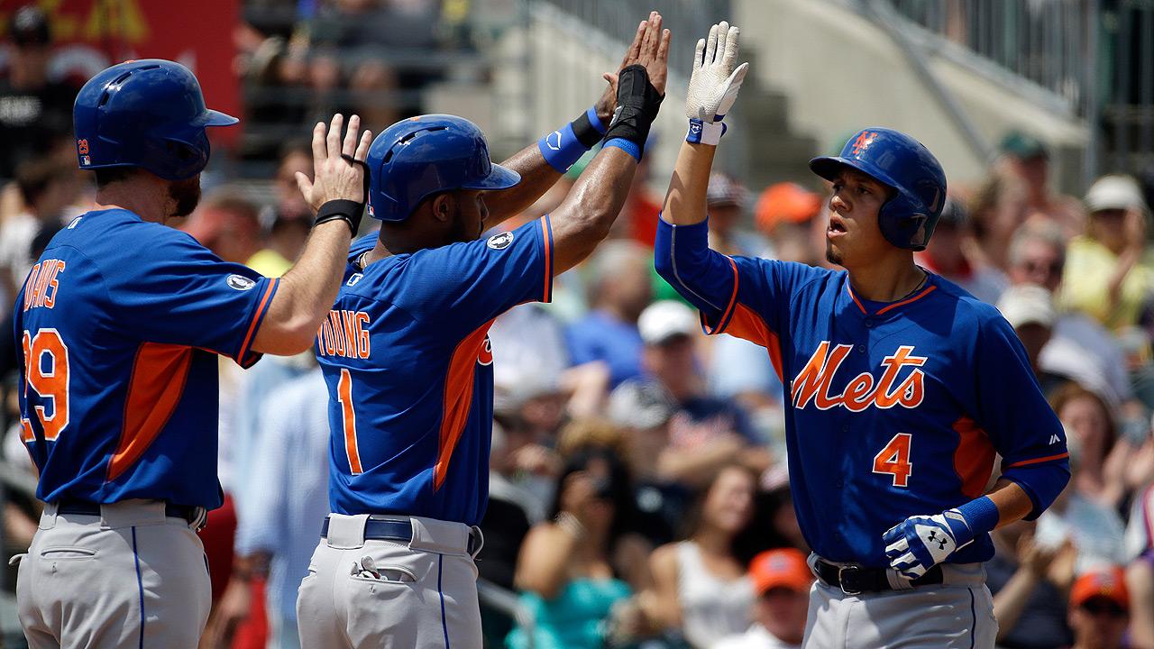 d'Arnaud, Flores, Davis go deep in Mets' victory