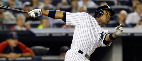 Granderson lends hand for Sandy relief