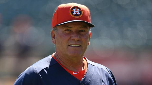 Astros finalize coaching staff for '14 season