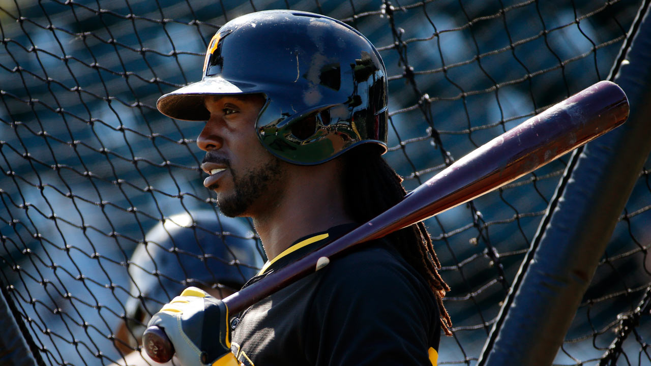 Cutch homers in dominant day, but Bucs fall late