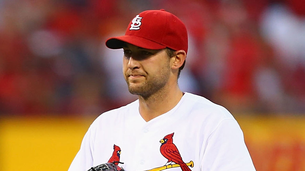Wacha throws first live BP to batters in Springfield