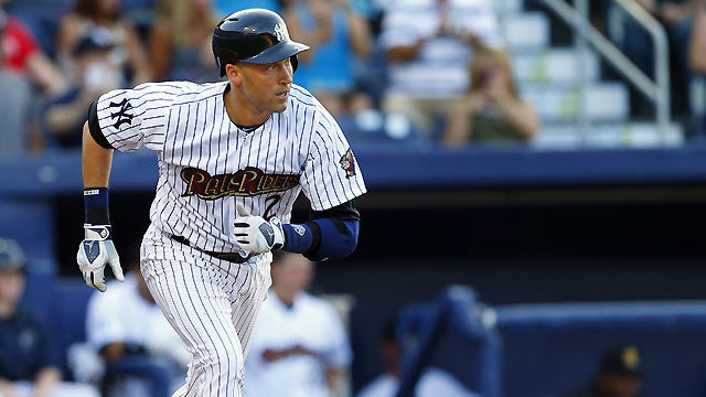 Jeter plays in third straight rehab game with no issues