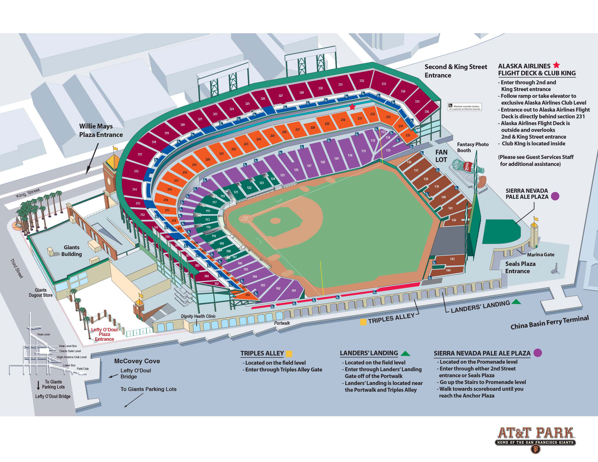 Pregame Party And Meeting Spaces San Francisco Giants