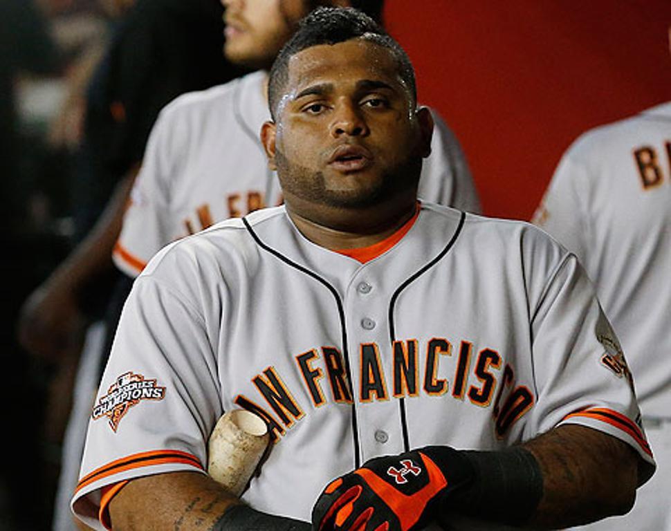 Gigantes envían a Sandoval a la lista de incapacitados
