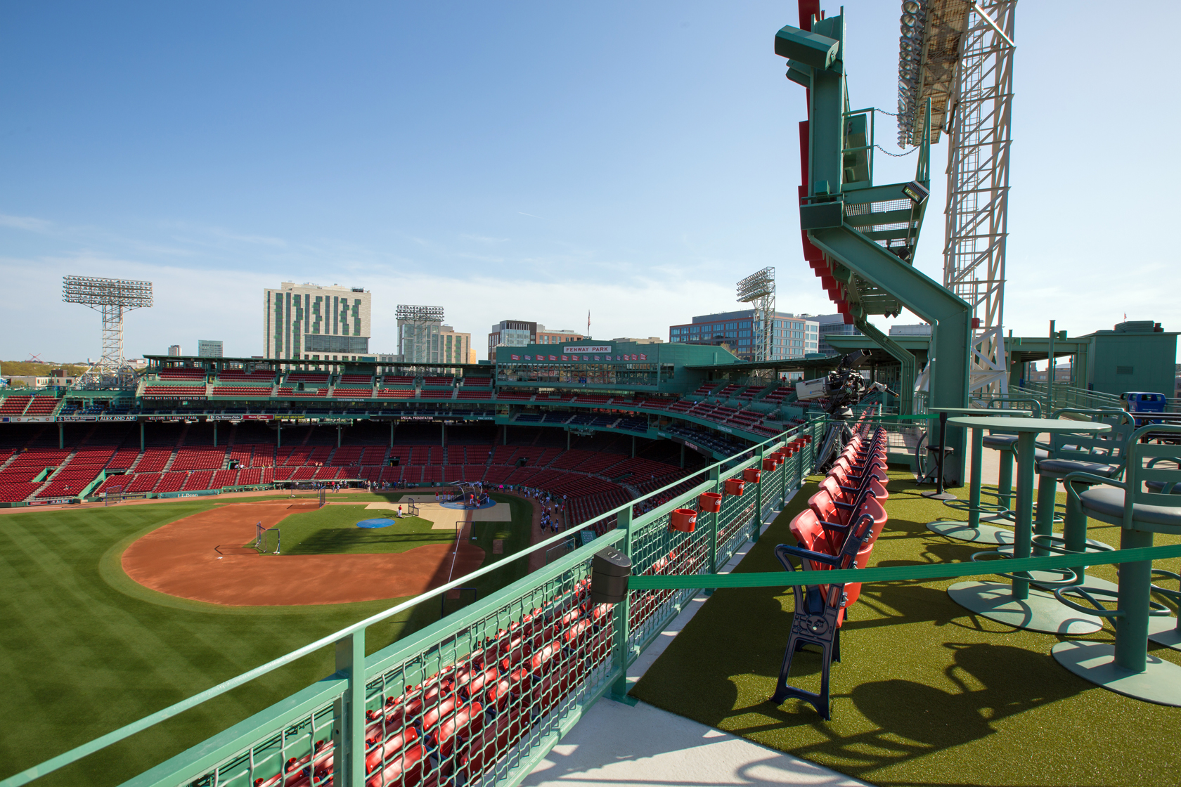Red Sox Suites And Premium Hospitality Lansdowne Pavilion Boston Red Sox