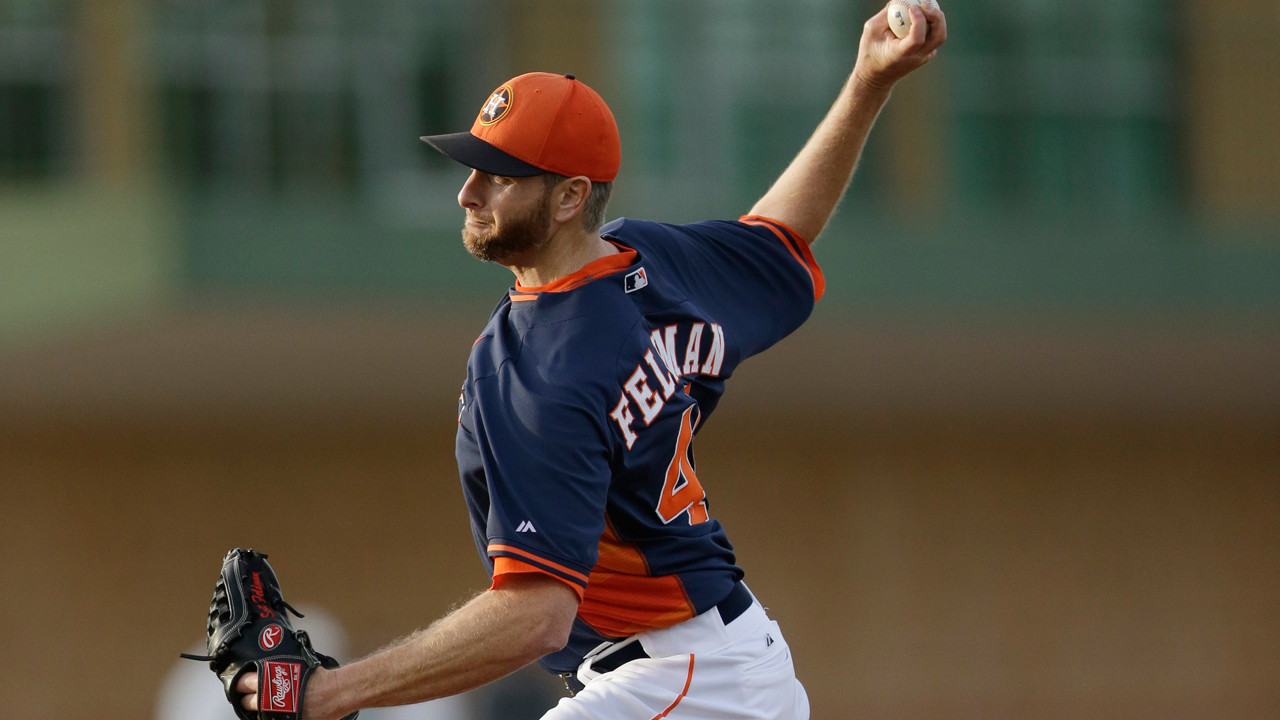 Feldman tunes up before Astros rally past Mets