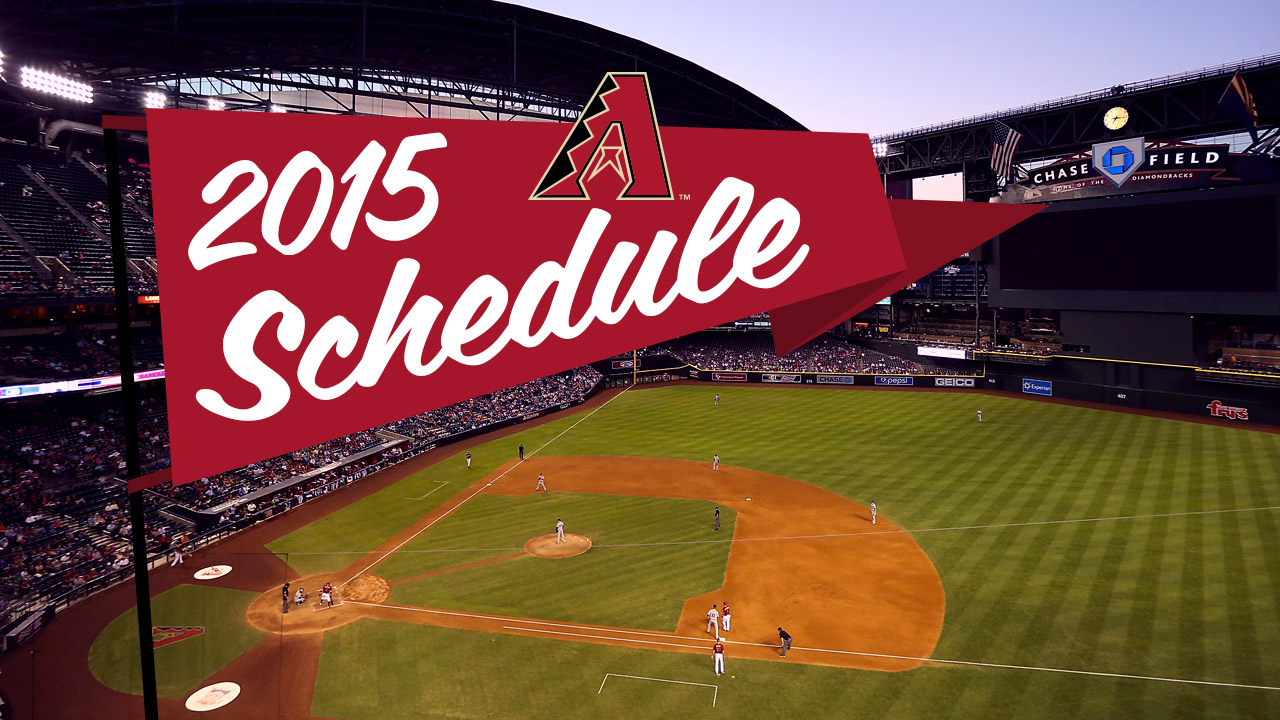 D-backs to open 2015 at home
