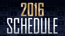 2016 Regular Season Schedule