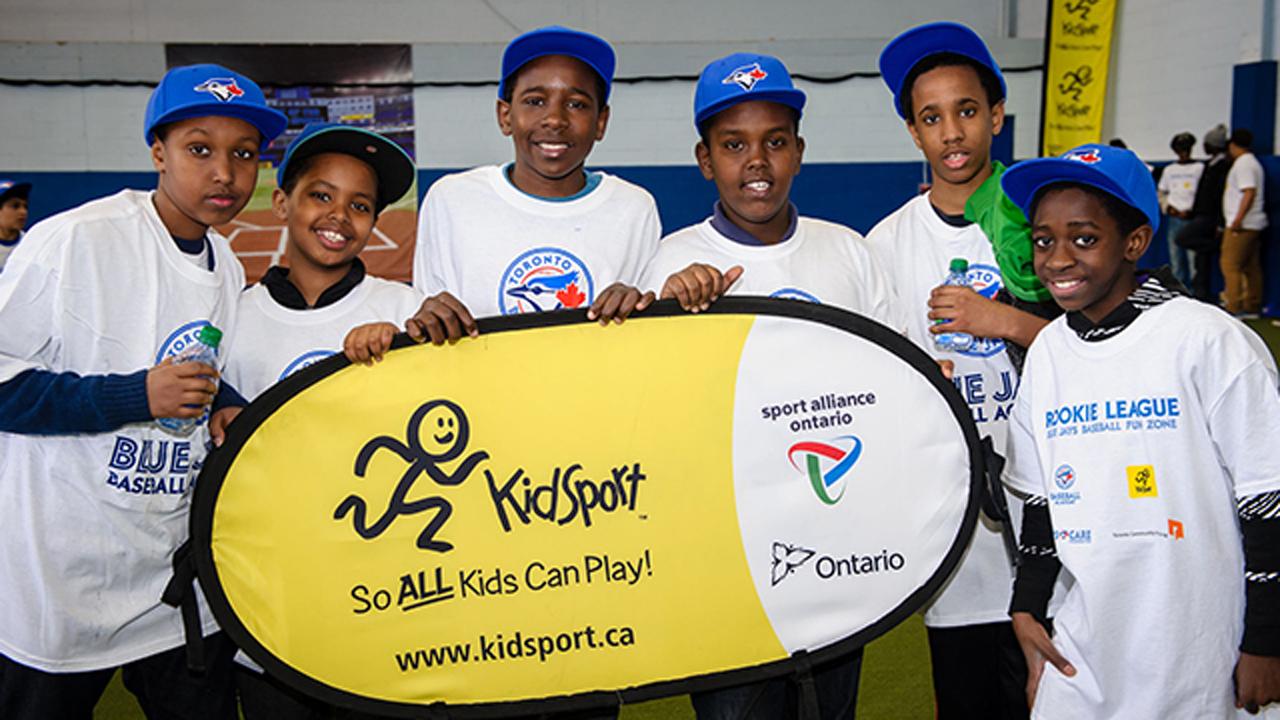 Jays Care, KidSport Canada announce partnership