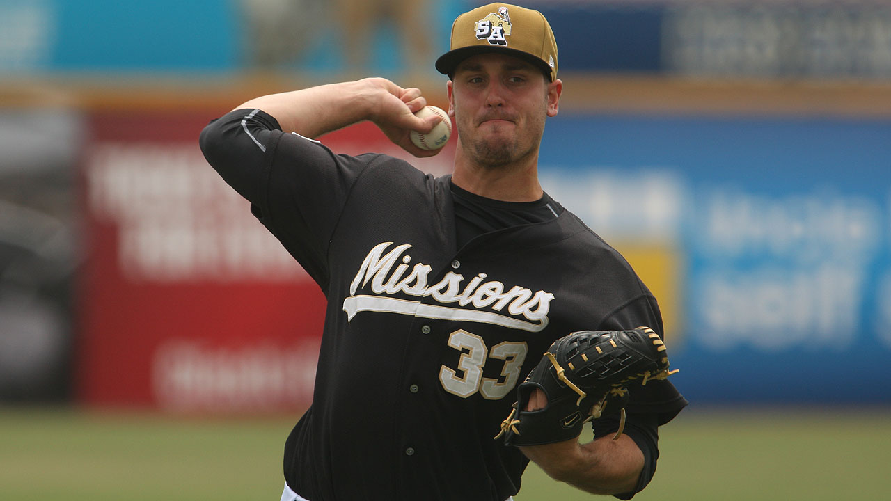 Double-A Missions trio combines on belated no-hitter