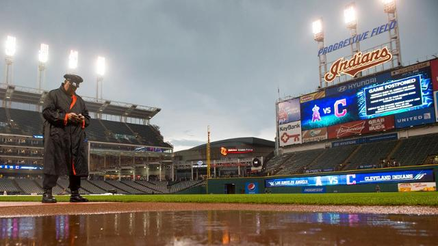 Angels-Indians postponed due to weather