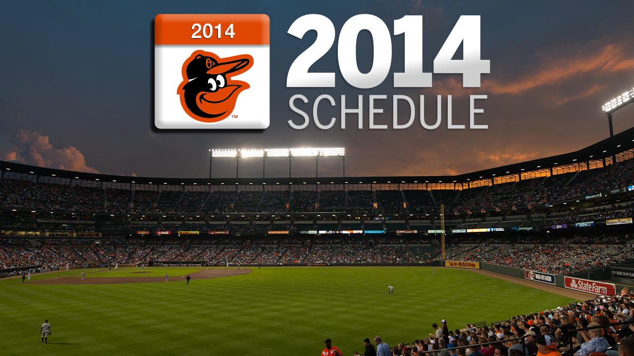 O's to host Red Sox to open 2014 regular season