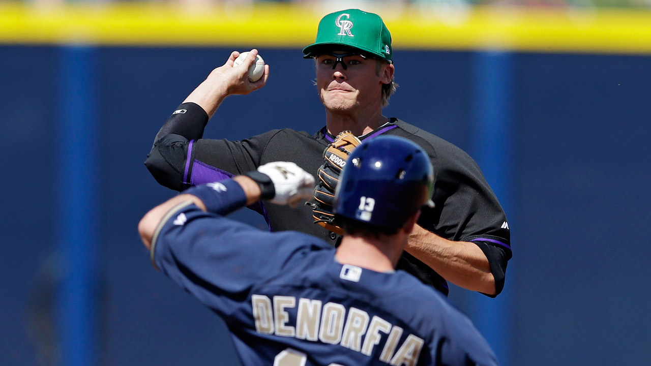 Pridie, Rutledge lead Rockies' big day on offense