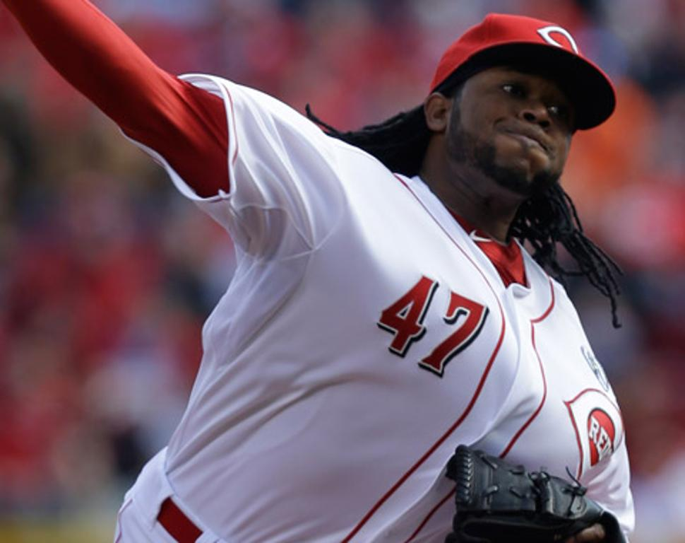 Johnny Cueto ingresó a la lista de incapacitados
