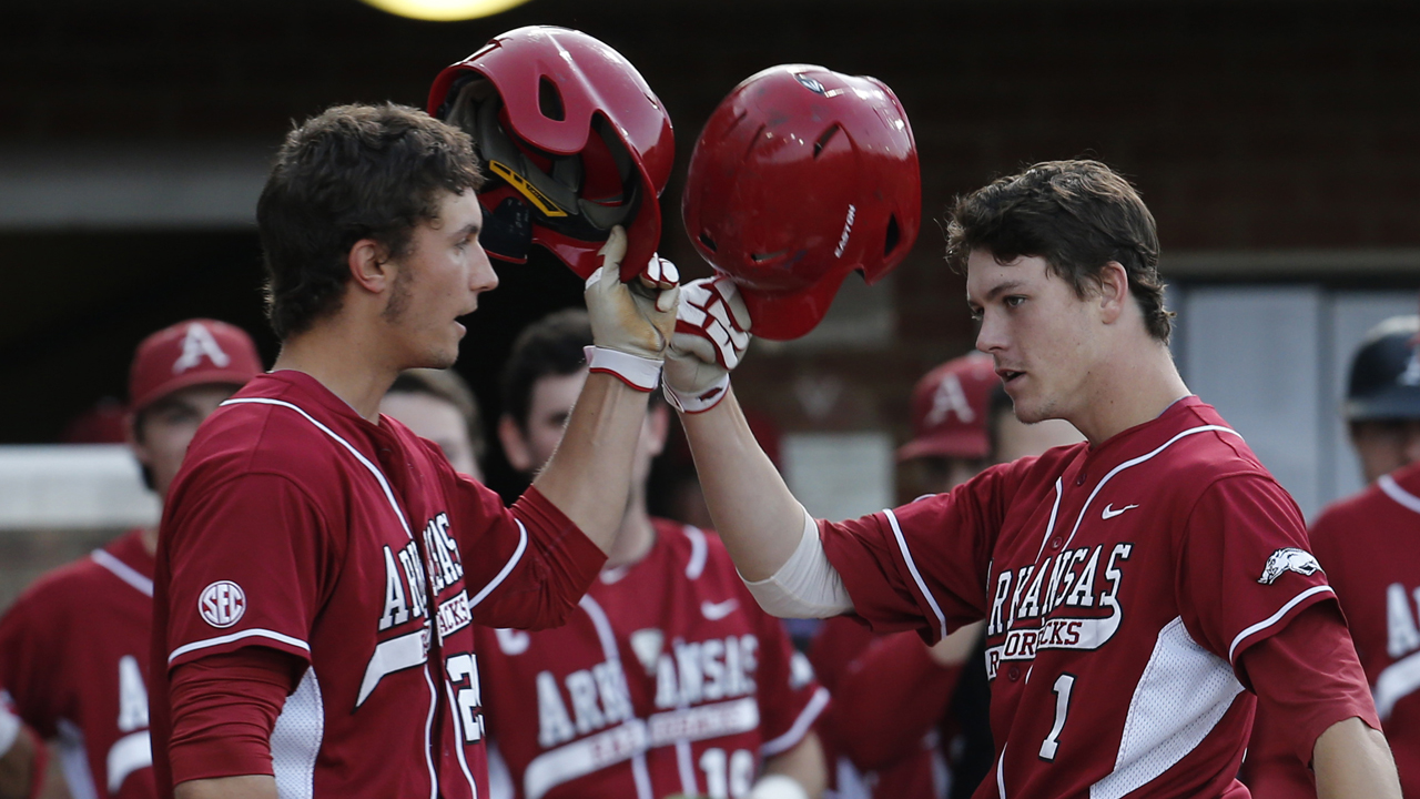 Marlins add second Arkansas infielder in Fisher