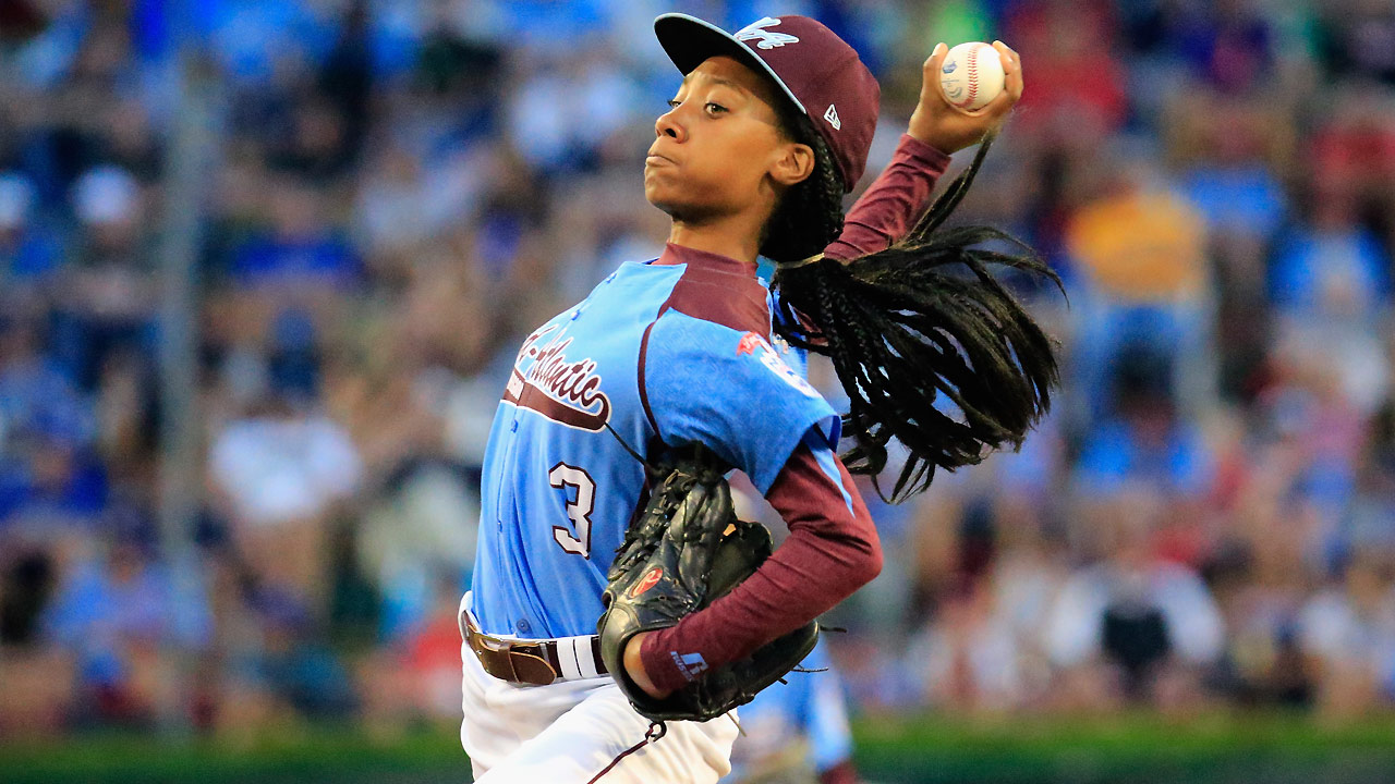 Mo'ne fans six in Philly's LLWS loss to Vegas