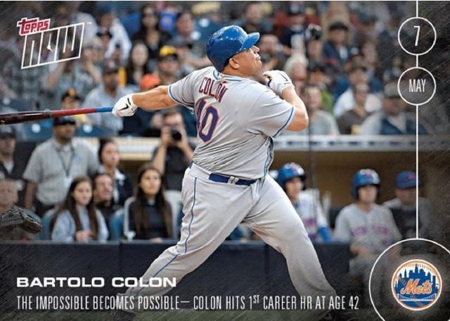 Bartolo Colon: New York Mets pitcher, 42, hits first home run