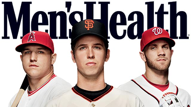 Trout, Harper, Posey land cover of Men's Health