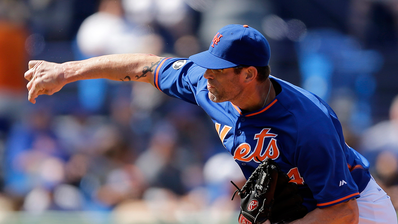 Mets release Farnsworth, could re-sign him