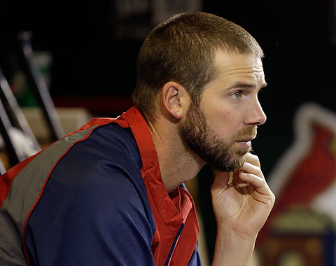Chris Carpenter volvió a enfrentarse a bateadores